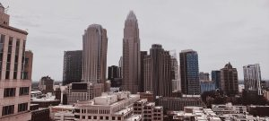 Uptown Charlotte has a magnificent skyline.